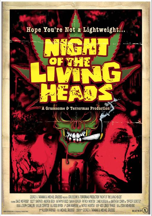 Night of the Living Heads poster